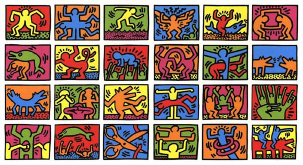 The art of Keith Haring